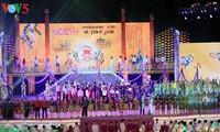 2018年顺化艺术节带有越南和世界最具代表性的地域文化印记