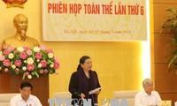 越南国会民族委员会第六次全体会议开幕