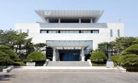 """韩朝同意在板门店韩方一侧""""和平之家""""举行高级别会谈"""