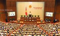 越南十四届国会五次会议讨论《越南海警法(草案)》
