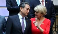 日本和澳大利亚反对中国在东海的军事化行动