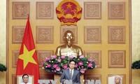 武德担副总理会见义安省为国立功者代表团