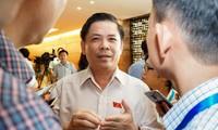 越南十四届国会五次会议开始进行质询和回答质询