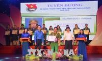 岘港举行2018年先进团支委和先进青年表彰会