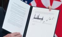 美朝联合声明  同意建立新型双边关系
