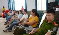 2018年红色行程:多乐省采集1644单位血液