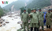 郑庭勇指导莱州省克服洪灾影响
