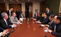 王庭惠对巴西进行正式访问