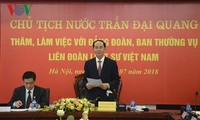 陈大光与越南律师协会举行工作会议