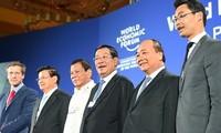 出席越南举办的世界经济论坛东盟峰会的国家元首创历届之最