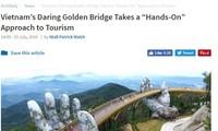 国际媒体称赞巴拿山太阳世界的金桥