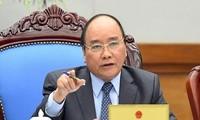 阮春福主持体制建设专题会议
