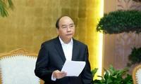 阮春福指示落实发展生产  推动出口的措施