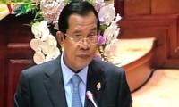 柬埔寨国会对洪森担任首相进行信任投票
