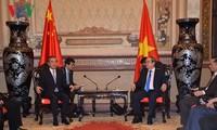 胡志明市为越中全面战略合作伙伴关系作出积极贡献