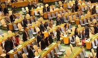 联合国大会为陈大光的逝世默哀