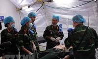 越南和联合国就派遣野战医院到南苏丹问题签署备忘录
