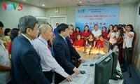 VOV正式开播韩国语广播