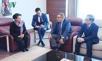 阮氏金银抵达土耳其出席第三届欧亚国家议长会议并正式访土