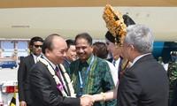 阮春福抵达巴厘  开始出席东盟领导人见面会行程