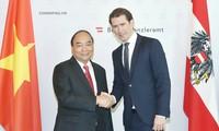 越南和奥地利高级会谈