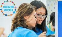 联合国儿童基金会启动越南青年挑战赛