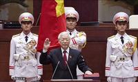 阮富仲宣誓就任国家主席