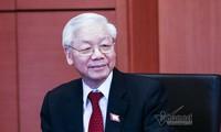 国际媒体深入报道阮富仲当选越南国家主席