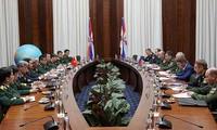 第四次越俄国防战略对话举行