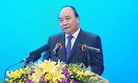 阮春福出席和平省投资促进会