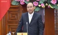 阮春福出席政府党组干事委员会2018年工作总结会议