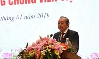 """越南政府副总理张和平 :公证人要成为可信赖的""""守门人"""""""