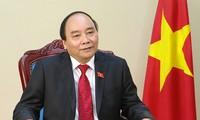 阮春福启程出席2019年世界经济论坛年会