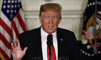 美国总统特朗普:美中贸易谈判良好进行