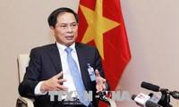 越南副外长裴青山:越南在达沃斯论坛传递越南革新创新和深广对接的信息