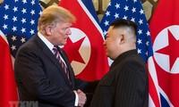 第二次美朝首脑会晤进入第二天