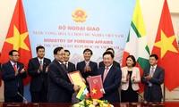 越南-缅甸力争把双边贸易额提升至10亿美元