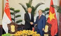 新加坡副总理张志贤访问胡志明市