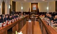 摩洛哥众议院议长马勒克与越南国会主席阮氏金银举行会谈