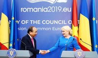 越南-罗马尼亚联合声明:进一步深化两国关系