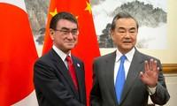 中国和日本就推动双边关系进行讨论