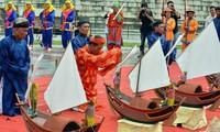 黄沙戍边军犒军仪式在广义省李山岛县举行