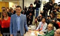 西班牙大选初步结果