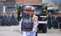 悼念原越南国家主席黎德英的仪式在多国举行