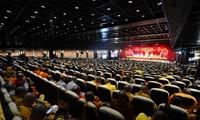 越侨踊跃参加在祖国家乡举行的联合国卫塞节
