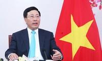 越南政府副总理兼外长范平明出席在日本举行的亚洲未来论坛