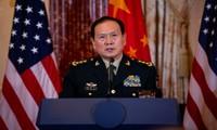 中国国防部长:中美关系总体上仍保持稳定