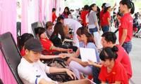 通过献血活动传播美好价值