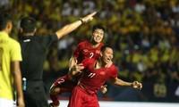 越南足球队打入2019年泰王杯足球赛决赛