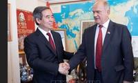 加强越俄两党合作关系